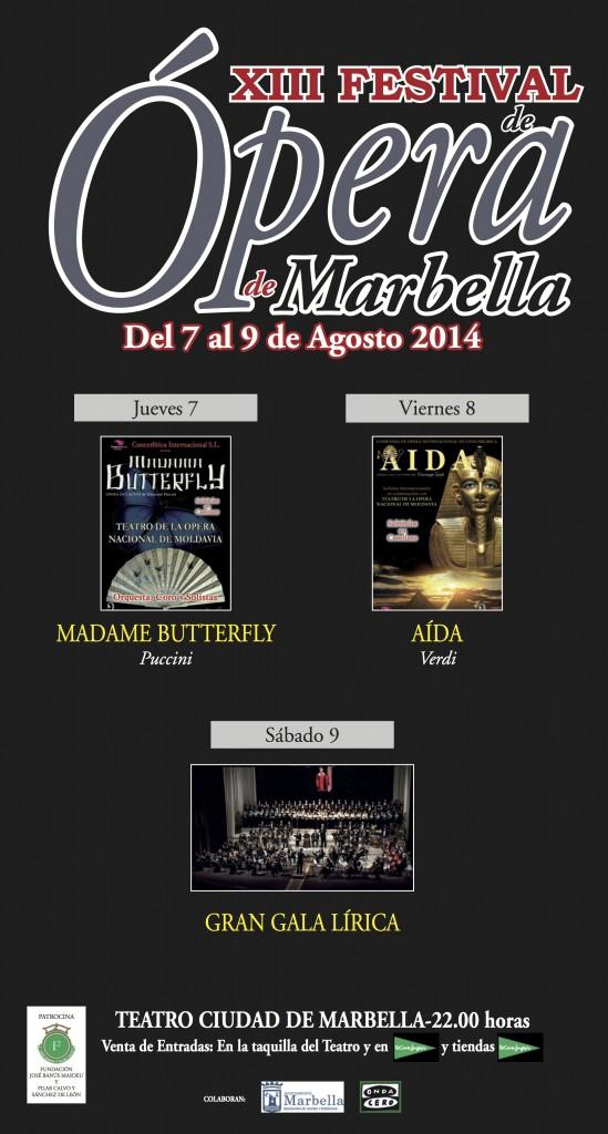 cartel opera marbella 2014